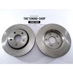 2x Brake Disc Rotors Front 53062A For DODGE DURANGO JEEP GRAND CHEROKEE
