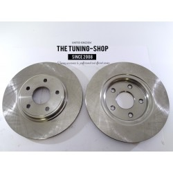 2X Brake Disc Rotor Rear 53069 JASON For CHRYSLER TOWN & COUNTRY DODGE JOURNEY
