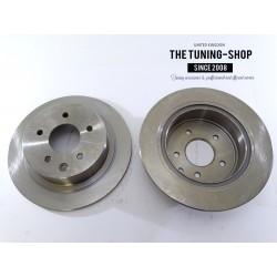 2x Brake Disc Rotor Rear 31312A For NISSAN ALTIMA JUKE MAXIMA SENTRA
