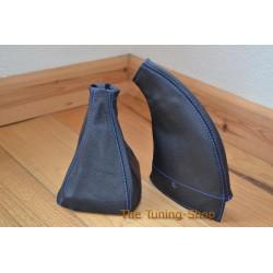 HONDA PRELUDE 1992-1996 GEAR& HANDBRAKE GAITER BOOT BLUE STITCHING