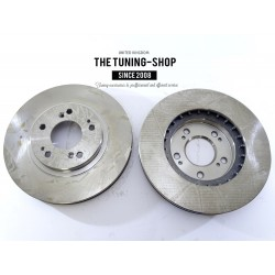 2x Brake Disc Rotor Front 31343A AS TEC For MITSUBISHI ENDEAVOR2004-2011