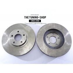 2x Brake Disc Rotor Front 31330 JASON For NISSAN ALTIMA MAXIMA MURANO