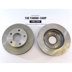 2x Brake Disc Rotor Front 55047 JASON 56694 For CHEVROLET BLAZER S10 PICKUP AWD