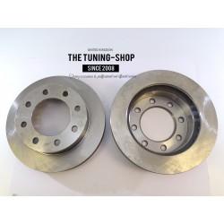 2x Brake Disc Rotor Front 55056 JASON 56829  For CADILLAC DEVILLE HUMMER H2