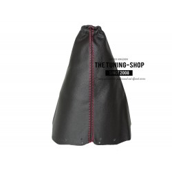 FOR NISSAN QASHQAI 2006+ GEAR GAITER BLACK LEATHER