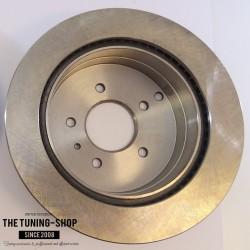 Brake Disc Rotor Rear 55147 AS TEC For CHEVROLET CAPTIVA SPORT EQUINOX PONTIAC TORRENT
