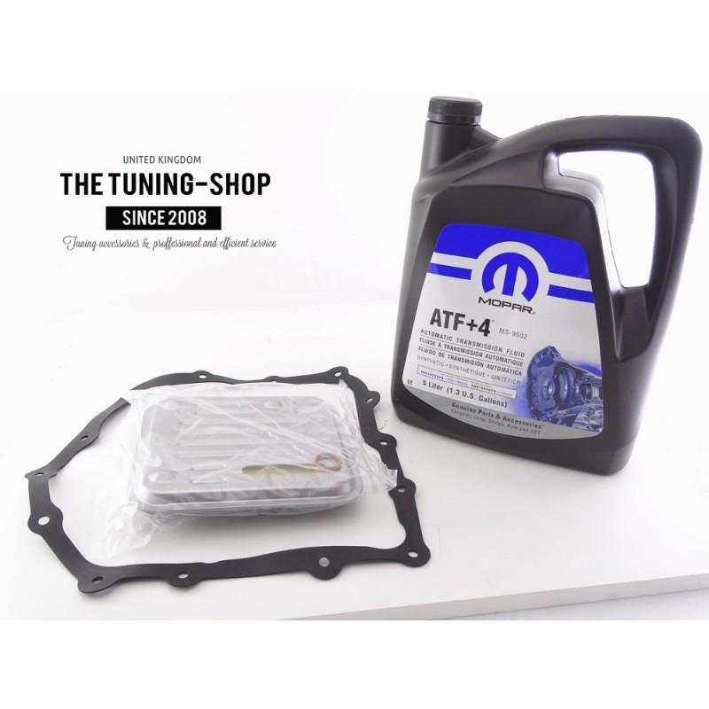 AT Oil Filter Kit & 5l ATF+4 For CHRYSLER VOYAGER 2000-2007 4 Speed - The  Tuning Shop Ltd