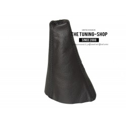 FOR HYUNDAI COUPE 99-02 GEAR GAITER BLACK LEATHER