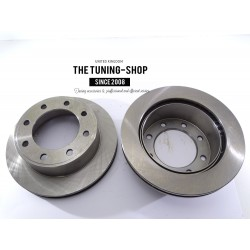 Brake Disc Rotor Rear 54074 AS TEC For FORD E-450 EXCURSION F-250 F-350 SUPER DUTY