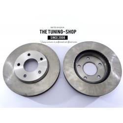 2x Brake Disc Rotor Front 5399 JASON 76921 For CHRYSLER SEBRING DODGE STRATUS