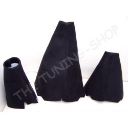 LAND ROVER DISCOVERY 200TDI 300TDI TD5 V8 3 x GAITERS BOOTS BLAC