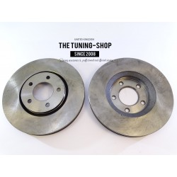 Brake Disc Rotor Front DR776 AS TEC For CHRYSLER TOWN & COUNTRY VOYAGER