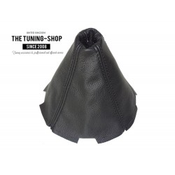 FOR MAZDA RX-8 RX8 GEAR GAITER SHIFT BOOT BLACK LEATHER