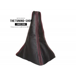 FOR TOYOTA SUPRA MK3 1986-1992 GEAR GAITER RED STITCHING
