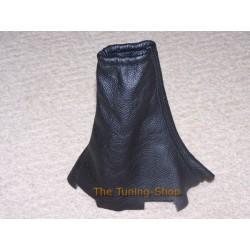 RANGE ROVER P38 BLACK LEATHER HANDBRAKE GAITER E BRAKE BOOT