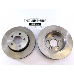2x Vented Front Brake Disc Rotors 53042 For DODGE NITRO JEEP LIBERTY