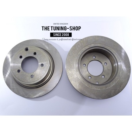 Brake Disc Rotor Rear 53043 For CHRYSLER SEBRING DODGE CALIBER JEEP COMPASS