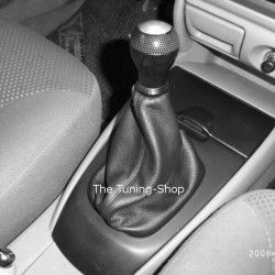 MAZDA MX-3 MX3 GEAR GAITER SHIFT BOOT BLACK LEATHER