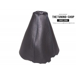 FOR AUDI 80 B3/B4 GEAR GAITER SHIFT BOOT BLACK LEATHER