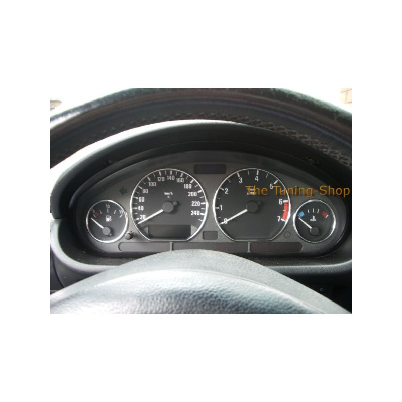 Bmw Z Series: FOR BMW E36 3 SERIES Or Z3 CHROME DIAL SPEEDO RINGS