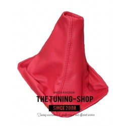 FOR  TOYOTA CELICA 99-05 GEAR GAITER RED LEATHER