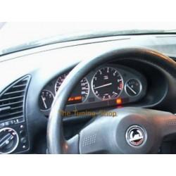 FOR BMW E36 3 SERIES or Z3 DIAL SPEEDO RINGS BRUSHED MATT ALLOY NEW