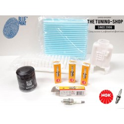 Premium Service Kit for Toyota Yaris Vitz 1.3 87HP 03-05 Japan Version Air Cabin Oil Filters & Spark Plugs New
