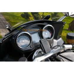 FOR BMW K1300 GT 2009-2012 CHROME RINGS POLISHED ALUMINIUM SURROUNDS FOR SPEEDO / REV COUNTER GAUGES NEW