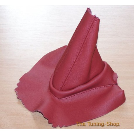 For Bmw Z4 E85 E86 Handbrake Gaiter Calypso Red Leather