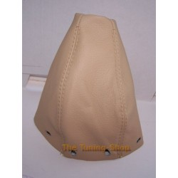 MERCEDES C CLASS 93-00 GEAR GAITER SHIFT BOOT BEIGE TAN LEATHER