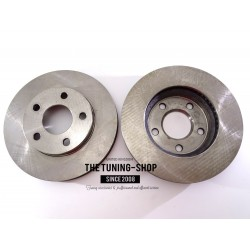2x Brake Disc Rotor Front 55040 CBK For CHEVROLET MALIBU OLDSMOBILE CUTLASS