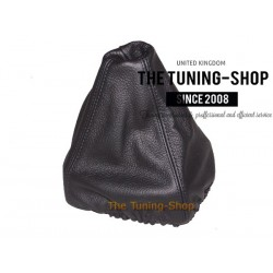 FOR AUDI 100 C4 GEAR GAITER SHIFT BOOT BLACK LEATHER
