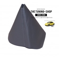 FOR  VW NEW BEETLE GEAR GAITER SHIFT BOOT DARK GREY LEATHER