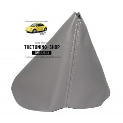 FOR  VW NEW BEETLE GEAR GAITER SHIFT BOOT GREY LEATHER