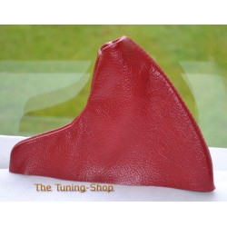 MG MGF MG TF MK1 MK2 HANDBRAKE GAITER RED LEATHER NEW