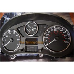 CITROEN BERLINGO 2008-2014 DIAL SURROUNDS SPEEDO GAUGE RINGS POLISHED ALLOY NEW