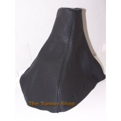 MITSUBISHI CARISMA 96-03 GEAR GAITER SHIFT BOOT BLACK LEATHER