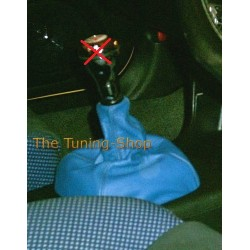 MITSUBISHI LANCER EVO IV, V, VI GEAR GAITER SHIFT BOOT BLUE NEW