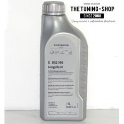 1l Volkswagen Longlife III Engine Oil SAE 5W-30  G 052 195 For WV Audi Seat Skoda