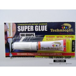 1 x VERY STRONG SUPER GLUE ADHESIVE FOR GLASS RUBBER METAL WOOD PORCELAIN CERAMICS 2g NEW