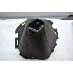 NISSAN NAVARA 2006-2012 BLACK GEAR GAITER LEATHER version 3