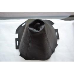 NISSAN NAVARA 2006-2012 BLACK GEAR GAITER LEATHER version 3