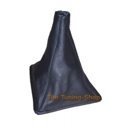 NISSAN SKYLINE R32 GEAR GAITER SHIFT BOOT BLACK LEATHER
