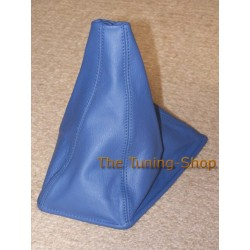 NISSAN SKYLINE R32 GEAR GAITER SHIFT BOOT BLUE LEATHER
