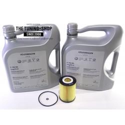 Oil Filter 10323 VIPER & 10l 5W-30 Mopar Engine Oil For CHRYSLER 300C JEEP COMMANDER