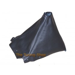 NISSAN SKYLINE R34 1998-2002 BLACK GENUINE LEATHER GEAR GAITER