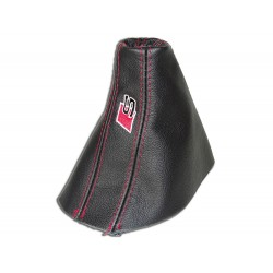 """FOR AUDI A6 C7 2004-2011 AUTOMATIC DSG GEAR GAITER """"S-line"""" EMBROIDERY"""