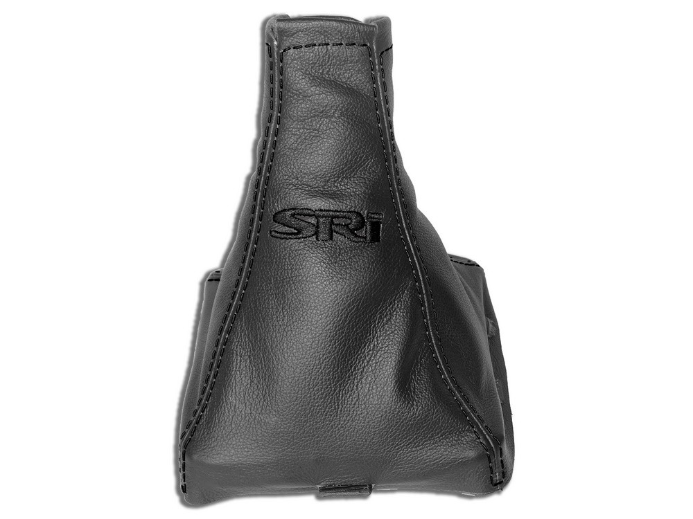 Manual Gear Gaiter Leather Black ST Special Edition Embroidery
