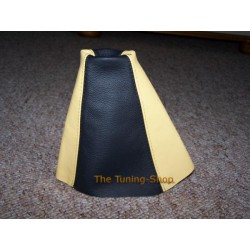 RENAULT MEGANE MK1 MK2 COUPE GEAR GAITER BLACK+YELLOW
