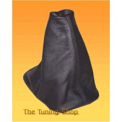 AUDI A3 96-00 GEAR GAITER SHIFT BOOT BLACK LEATHER